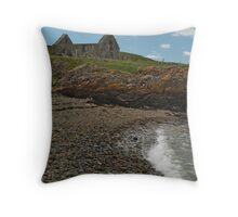 St. Ninian's Chapel Throw Pillow