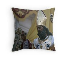 St Nicholas Throw Pillow