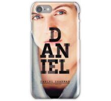 Daniel Sharman Teen wolf iPhone Case/Skin