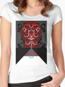 Psychedelic Alice 3 Women's Fitted Scoop T-Shirt