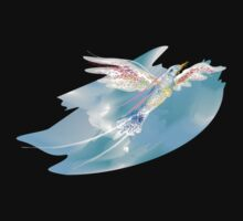 Blue Bird of Happiness One Piece - Short Sleeve