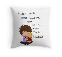 Don't Forget Me Throw Pillow