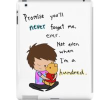 Don't Forget Me iPad Case/Skin