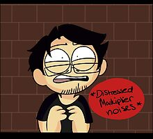 *distressed Markiplier noises* by sexmybangs