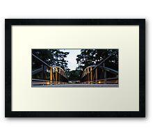 Bridge of Light Framed Print