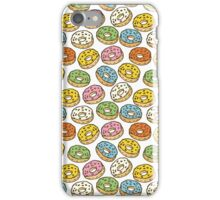 Colorful Donuts Seamless Pattern iPhone Case/Skin
