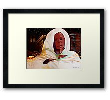 Mary and Baby Framed Print