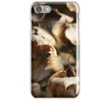 Dried up Leaves iPhone Case/Skin