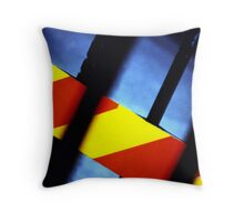 Steel Container Detail Throw Pillow