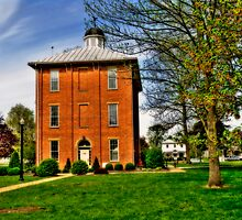 Sunbury Town Hall - Ohio by Kate Adams