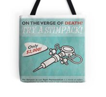 Fallout - Try a Stimpack! Tote Bag