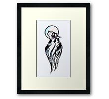 Midnight Moon Madness Framed Print