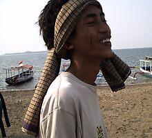 Ali in Bangsal, Lombok by simoneandginko