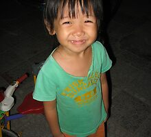 Local child, Hoi An by simoneandginko