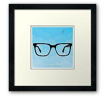 Superman - Clark Kent Framed Print