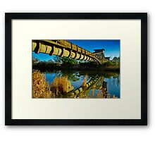 """Heritage Reflected"" Framed Print"