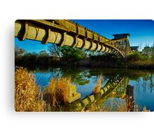 """""""Heritage Reflected"""" Canvas Print"""