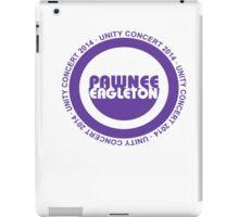 Pawnee Unity Concert 2014 iPad Case/Skin