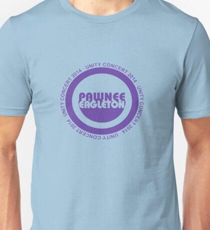 Pawnee Unity Concert 2014 Unisex T-Shirt