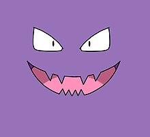 Haunter Face by alienaviary