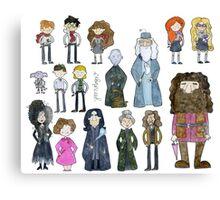 Harry Potter Cast Canvas Print