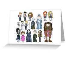 Harry Potter Cast Greeting Card
