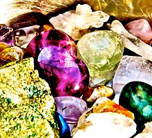Gemstones for the spirit  by mandyemblow