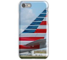 American Airlines Boeing 767 tail in new livery  iPhone Case/Skin