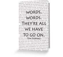 Words, words Greeting Card