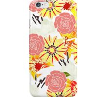 Flowers Of Summer iPhone Case/Skin