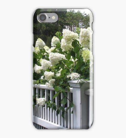 HERITAGE GARDENS HYDRANGEAS iPhone Case/Skin
