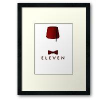 Eleven Framed Print