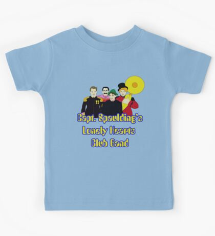 Capt. Spaulding's Lonely Hearts Club Band Kids Tee