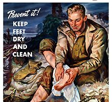 This Is Trench Foot -- Prevent It! by warishellstore