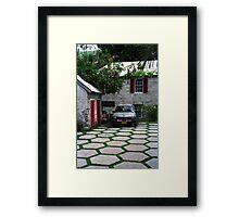 Nassau Honda Framed Print