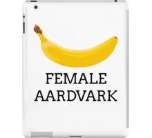 Female aardvark iPad Case/Skin