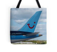 Thompson Airlines Boeing 787 tail livery Tote Bag