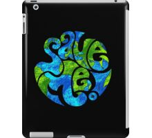 Save the Planet iPad Case/Skin