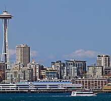 Space Needle, Seattle by Barb White