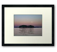Moonlit Evening Framed Print