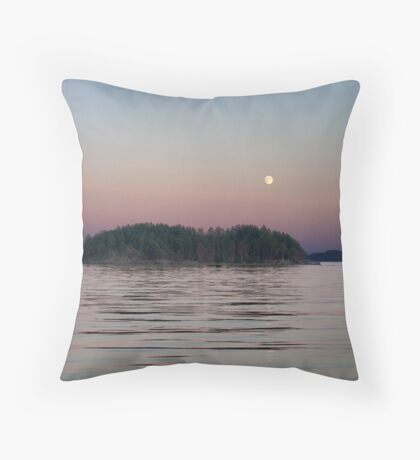 Moonlit Evening Throw Pillow