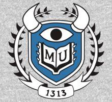 Monsters University Emblem by alienaviary
