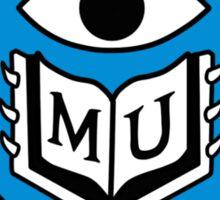 Monsters University Emblem Sticker