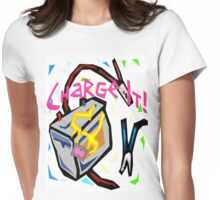 Charge It! Womens Fitted T-Shirt