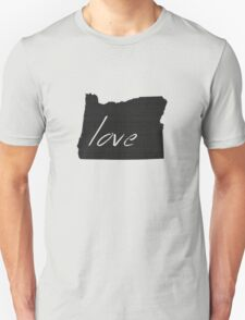 Love Oregon Unisex T-Shirt