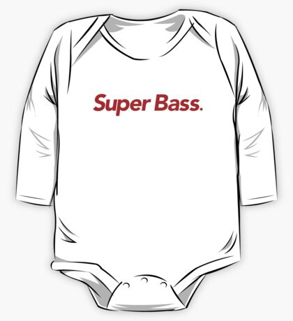 Super Bass One Piece - Long Sleeve