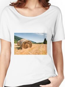 Hay bales Women's Relaxed Fit T-Shirt