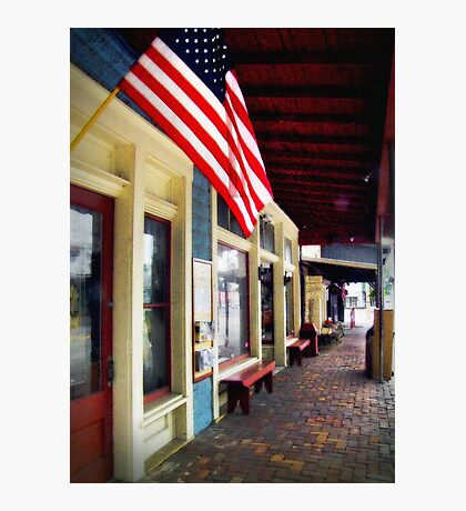 """""""Small Town America, I Miss Your Innocence"""" Photographic Print"""