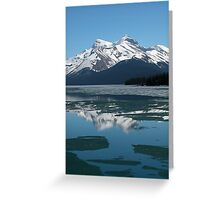 Lake Maligne Greeting Card