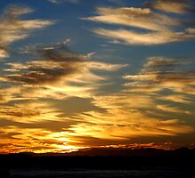 Sunset  at Crowdy. by Brandie1